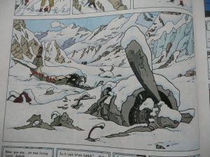 tintin in tibet, snow, wintry, books, novels, reading