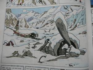 tintin in tibet, snow, wintry, books, novels, reading