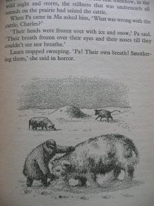 laura ingalls wilder, the long winter, books, reading, novels, snowy, wintry, winter