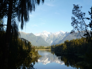 On the South Island, New Zealand