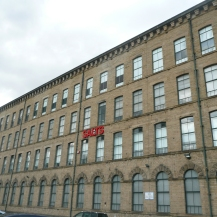 Salts Mill. Now a bookshop, gallery and offices