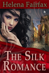 the silk romance, helena fairfax, romance novel, romantic, france, silk, weaving, lyon