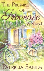 the promise of provence, france book tours, patricia sands, romance novel