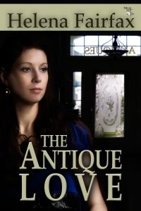 the antique love, helena fairfax, cover design