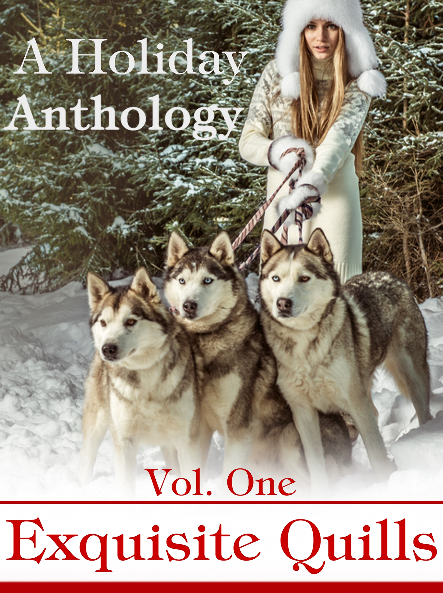 exquisite quills, helena fairfax, holiday anthology