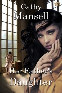 cath mansell, her father's daughter, cover art twins