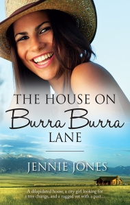 jennie jones, helena fairfax, the house on burra burra lane