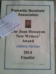 joan hessayon award, rna summer party, helena fairfax