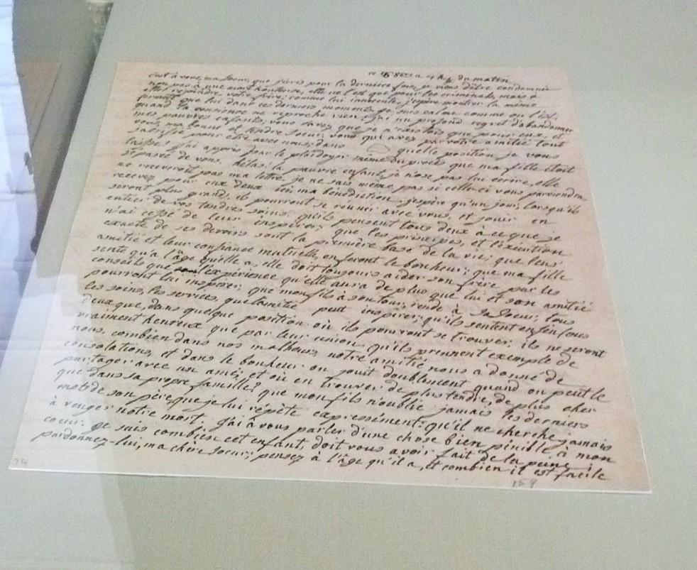 marie antoinette's last letter, helena fairfax