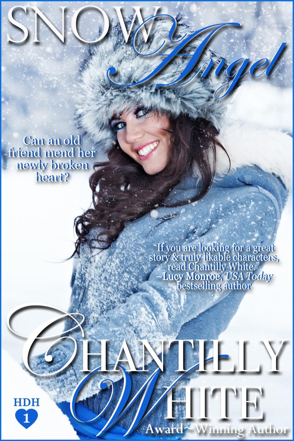 snow angel, chantilly white, helena fairfax