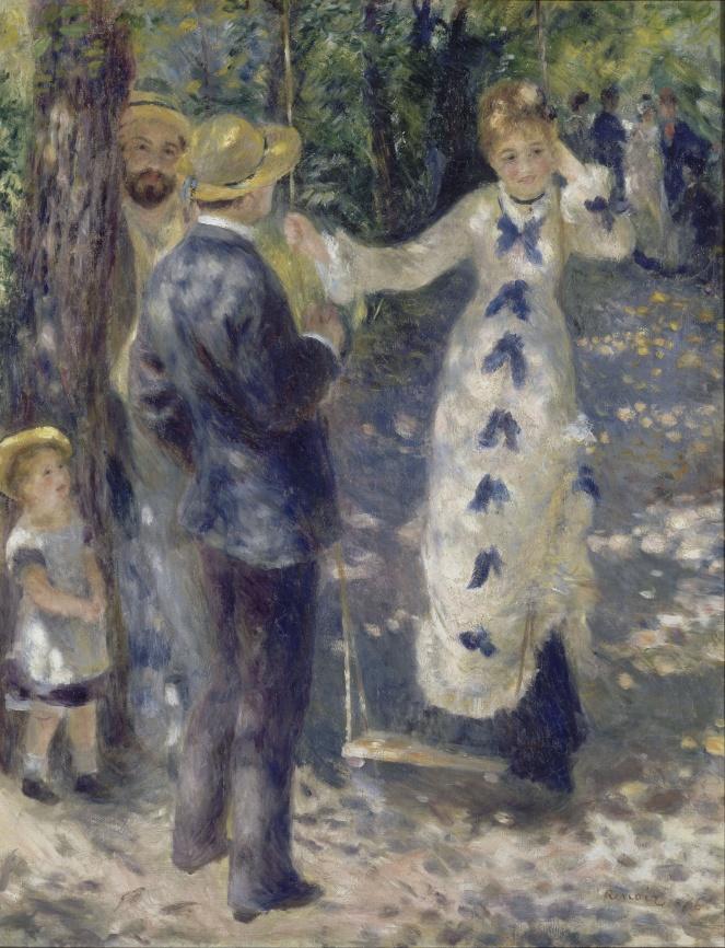 auguste renoir, the swing