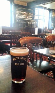 Inside Whitelocks - a Victorian pub in Leeds