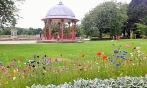 The bandstand, Roberts Park, Saltaire