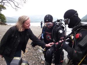 helena fairfax, penrrith divers, ullswater