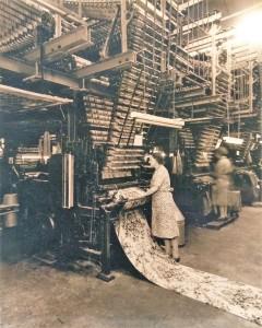 Crossley's carpets, halifax, helena fairfax