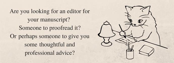 Helena Fairfax. Freelance editor.