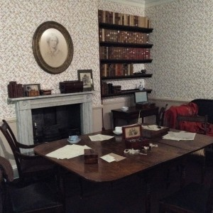 Helena Fairfax, freelance editor. Bronte parsonage, Haworth