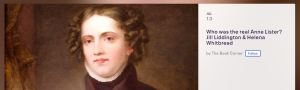 helena whitbread, anne lister, jill liddington